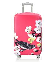 Чехол для чемодана LOQI LUGGAGE COVER M - Cherry blossom