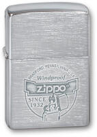 Зажигалка ZIPPO Since 1932 Brushed Chrome