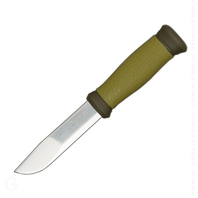 Нож Morakniv Outdoor 2000 Green, нерж.сталь